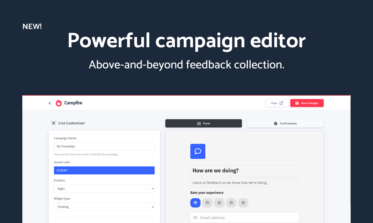 Campfire - Advanced user feedback platform - 4